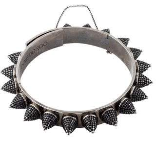 Eddie Borgo Crystal Cone Choker Necklace