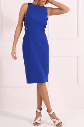 Forever Unique Royal Blue Sheath Dress