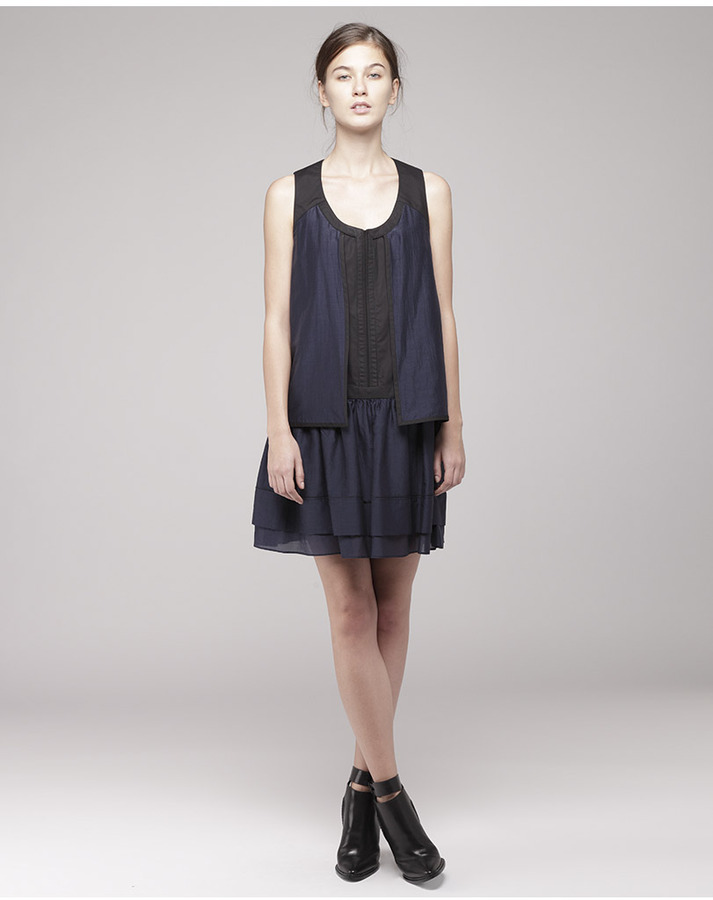 Proenza Schouler sleeveless trapeze dress
