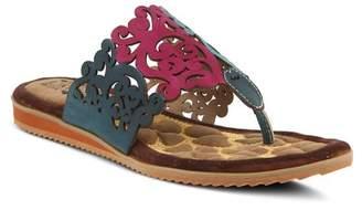 L'ARTISTE Heaven Swirl Design Sandal