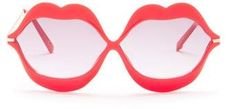 Betsey Johnson Lip Sunglasses