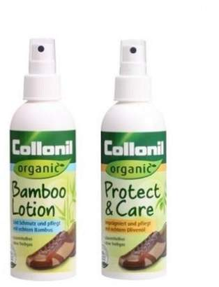 Collonil ORGANIC Leather/Suede/Nubuck Bamboo Lotion and Protect & Care Kit