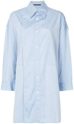 Yohji Yamamoto long-line asymmetrical shirt