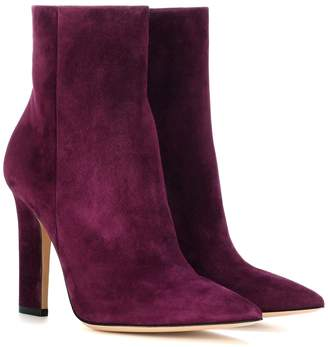 Gianvito Rossi Daryl suede ankle boots