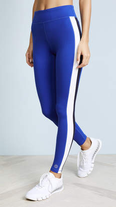 Tory Sport Colorblock Side Stripe Leggings
