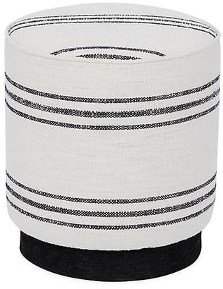 Kim Salmela Pepper Stool - Black/White Stripe