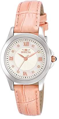 Invicta Women's 12544 Analog Display Angel Diamond-Accented Leather Watch with Interchangeable Straps