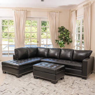 Home Loft Concepts Gains Leather Sectional