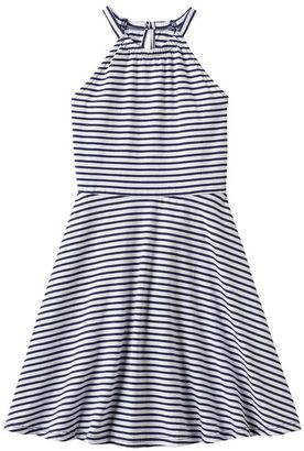 Girls 4-10 Jumping Beans® Striped Halter Dress $24 thestylecure.com