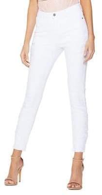 Quiz Skinny Stretch Crochet Jeans