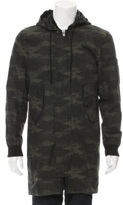 BLK DNM Camouflage Padded Jacket