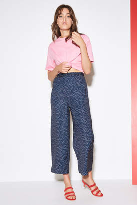 THE FIFTH ROOFTOP POLKA DOT PANT navy w white