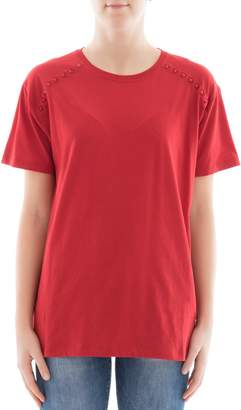 Valentino Red Cotton T-shirt