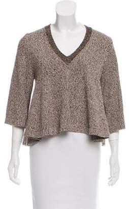 Apiece Apart Long Sleeve Knit Sweater