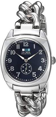 La Mer Women's Quartz Metal and Silver Plated Casual Watch(Model: LMMONACO103)