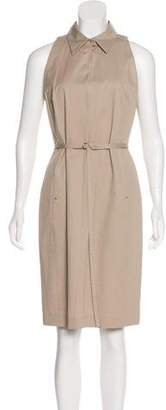 Max Mara Collared Sheath Dress