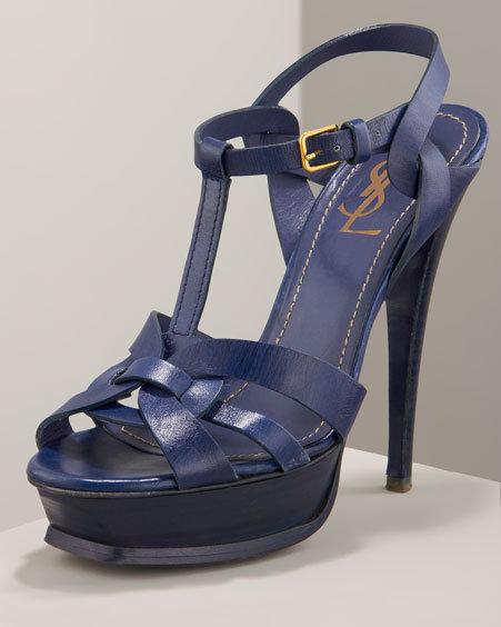 Yves Saint Laurent Tribute Platform Sandal