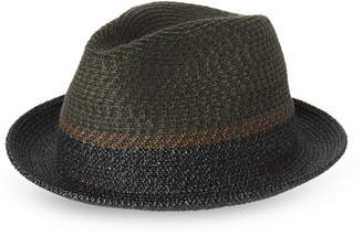 Bailey Of Hollywood Ragon Two-Tone Short Brim Fedora