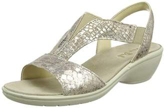 Van Dal Women''s Barbara Sling Back Sandals, (Gold Feature), 36 EU