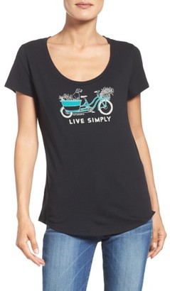 Women's Patagonia Live Simply Organic Cotton Tee $35 thestylecure.com