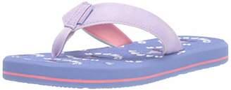 Freewaters Girls' Mini Flip Sandal with Supreem Foam Footbed