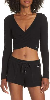 Alo Amelia Luxe Crop Top