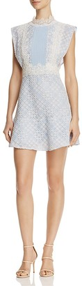 Sandro Peaches Lace Dress $495 thestylecure.com