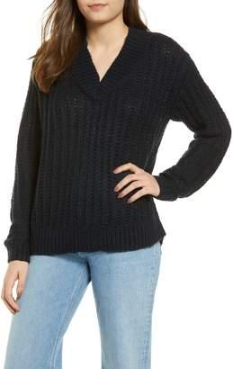 Vero Moda Becca V-Neck Chunky Sweater