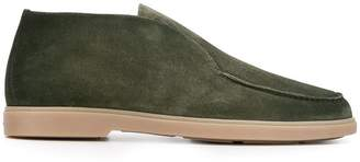 Santoni low-top suede boots
