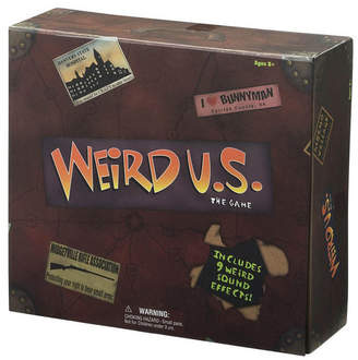University Games Weird U.s. Board Game