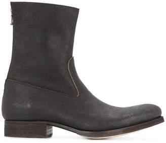 C Diem back zip boots