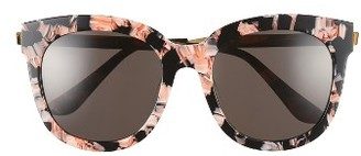 Women's Gentle Monster Cuba 55Mm Sunglasses - Pink/ Black $255 thestylecure.com