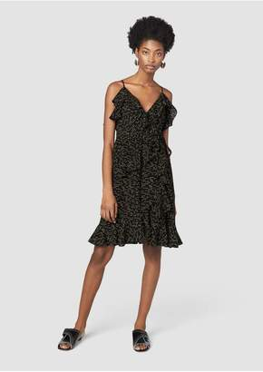 Derek Lam 10 Crosby Ruffled Wrap Dress