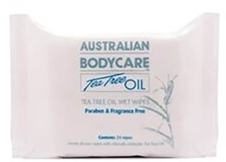 Australian Bodycare Handy Pack Wipes (24 Pack)