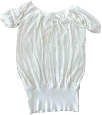 Catherine Malandrino White Cotton Top for Women