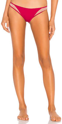 Tori Praver Swimwear Mannon High Leg Cheeky Bottom