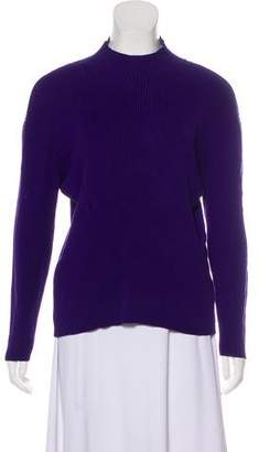 Pendleton Rib Knit Long Sleeve Top