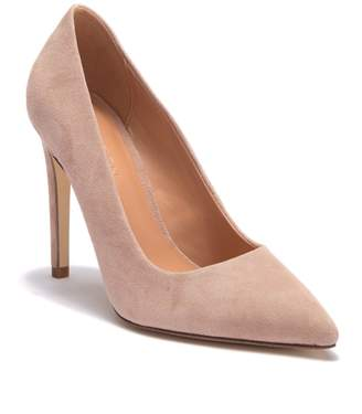 Halston Teri Suede Stiletto Pump