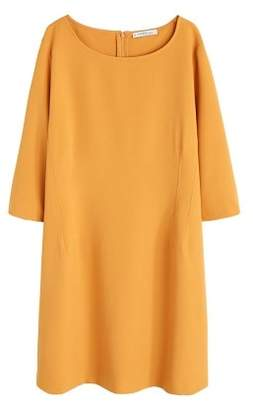 Violeta BY MANGO Dart detail dress