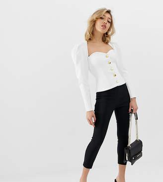 Asos DESIGN Petite skinny crop pants