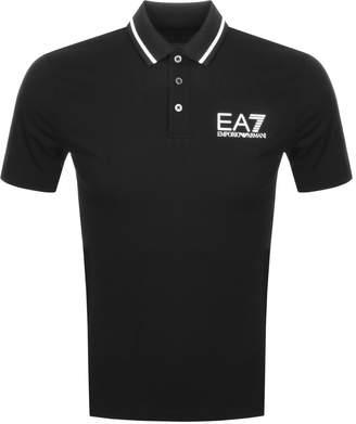 Emporio Armani EA7 Core ID Polo T Shirt Black
