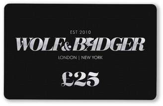 Wolf & Badger Gift Card £25