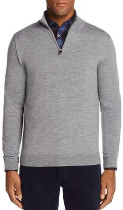 Bloomingdale's The Men's Store at Quarter-Zip Merino Sweater - 100% Exclusive