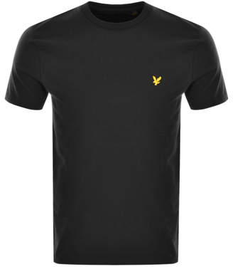 Lyle & Scott Crew Neck T Shirt Black