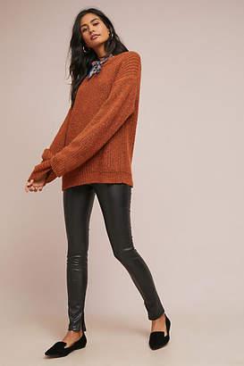 Velvet by Graham & Spencer Berdine Mid-Rise Faux Leather Leggings