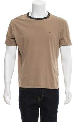 Gucci Woven Crew Neck T-Shirt