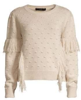 Generation Love Nora Fringed Pom Pom Sweater