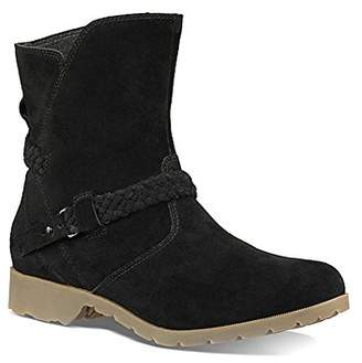 Teva Women's W Delavina Low Suede Mid Calf Boot