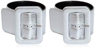 ATTICO Metallic Ankle Cuffs