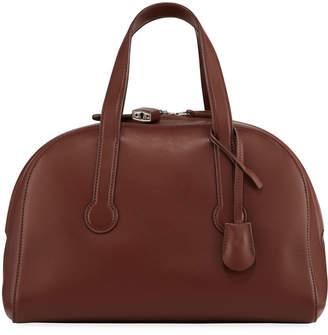 The Row Sporty Bowler Smooth Top Handle Bag